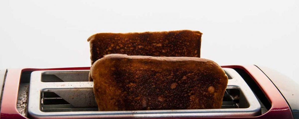 Acrylamid im verbrannten Toast